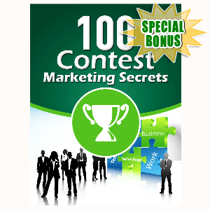 Special Bonuses - April 2016 - 100 Contest Marketing Secrets