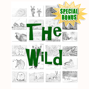 Special Bonuses - May 2016 - The Wild Coloring Book Package