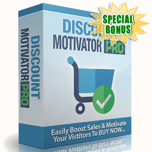 Special Bonuses - June 2016 - Discount Motivator Pro Software