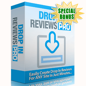 Special Bonuses - June 2016 - DropIn Reviews Pro