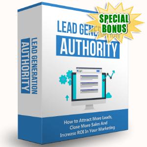 Special Bonuses - August 2016 - Lead Generation Authority