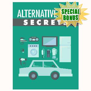 Special Bonuses - August 2016 - Alternative Fuel Secrets