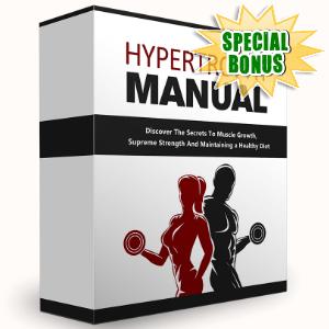 Special Bonuses - August 2016 - Hypertrophy Manual