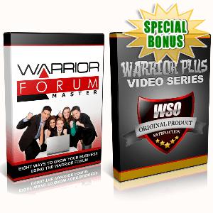 Special Bonuses - September 2016 - Warrior Forum Combo Videos Pack