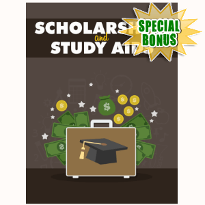 Special Bonuses - November 2016 - Scholarships And Study Aids