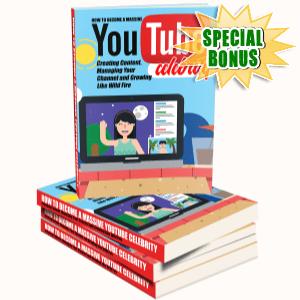 Special Bonuses - November 2016 - YouTube Celebrity