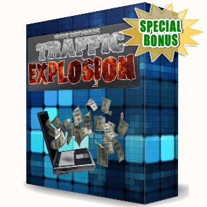 Special Bonuses - November 2016 - Newbie Traffic Explosion Video Series