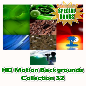Special Bonuses - December 2016 - HD Motion Backgrounds Collection 32