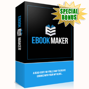 Special Bonuses - January 2017 - WP Ebook Maker Plugin
