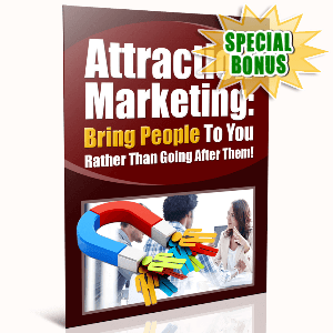 Special Bonuses - January 2017 - Attraction Marketing
