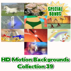 Special Bonuses - March 2017 - HD Motion Backgrounds Collection 39