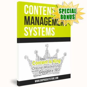 Special Bonuses - April 2017 - Content Management Systems