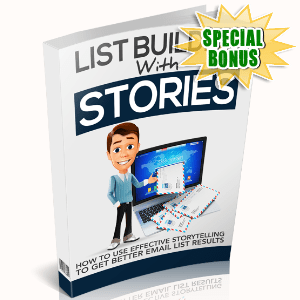 Special Bonuses - June 2017 - List Building With Stories - Upsell