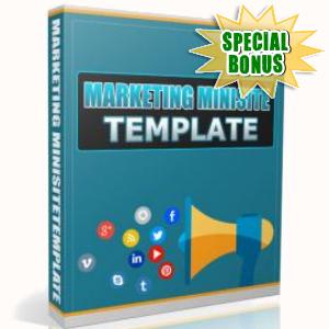 Special Bonuses - June 2017 - Marketing Minisite Template