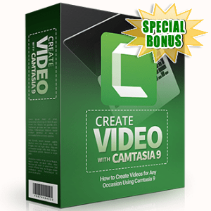 Special Bonuses - June 2017 - Create Video With Camtasia 9 Part 1 Video Series