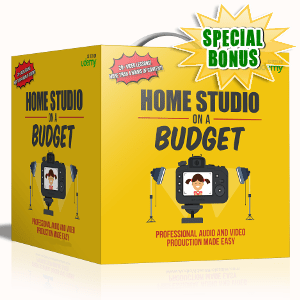 Special Bonuses - September 2017 - Home Studio On A Budget Audio/Video Series Pack