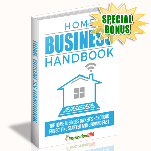 Special Bonuses - October 2017 - Home Business Handbook