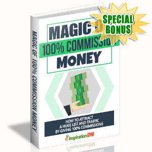 Special Bonuses - October 2017 - Magic Of 100% Commission Money