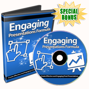 Special Bonuses - October 2017 - Engaging Presentations Formula Video/Audio Series