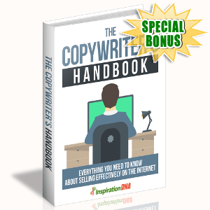 Special Bonuses - October 2017 - The Copywriter's Handbook