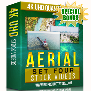 Special Bonuses - November 2017 - Aerial 4K UHD Stock Videos Part 4 Pack