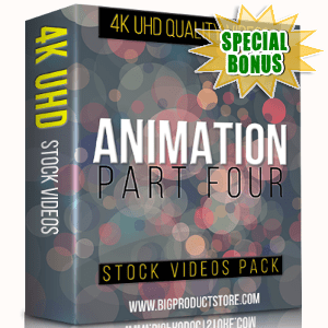 Special Bonuses - November 2017 - Animation 4K UHD Stock Videos Part 4 Pack