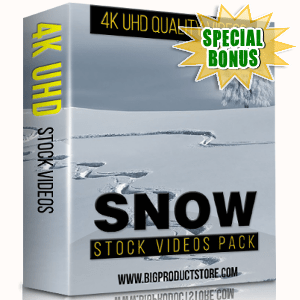 Special Bonuses - November 2017 - Snow 4K Stock Videos Pack