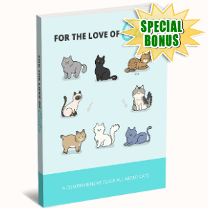 Special Bonuses - November 2017 - For The Love Of Cats