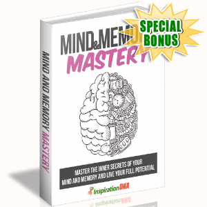 Special Bonuses - December 2017 - Mind And Memory Mastery