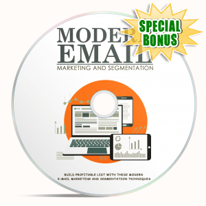 Special Bonuses - April 2018 - Modern Email Marketing And Segmentation Video Upgrade Pack