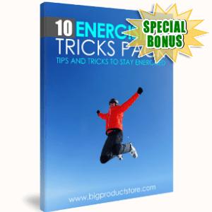 Special Bonuses - May 2018 - 10 Energizing Tricks Pack