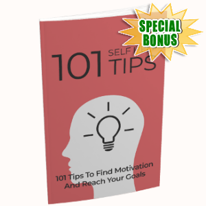 Special Bonuses - July 2018 - 101 Self Help Tips