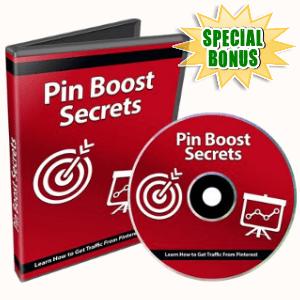 Special Bonuses - September 2018 - Pin Boost Secrets Video Series Pack