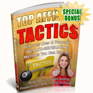 Special Bonuses - September 2018 - Top Affiliate Tactics