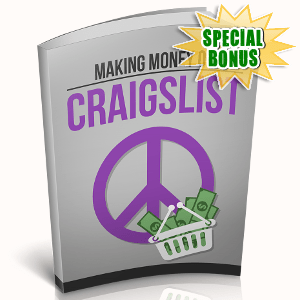 Special Bonuses - October 2018 - Making Money On Craigslist