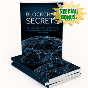 Special Bonuses - October 2018 - Blockchain Secrets Pack