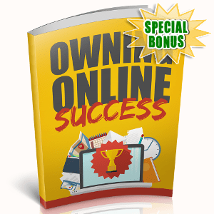 Special Bonuses - November 2018 - Owning Online Success
