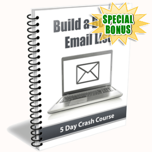 Special Bonuses - November 2018 - Build A Better Email List