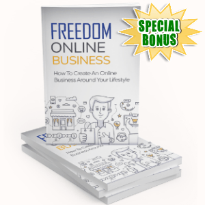 Special Bonuses - February 2019 - Freedom Online Business Pack