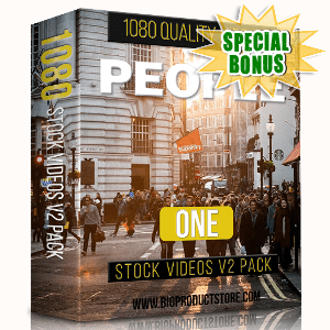 Special Bonuses - February 2019 - People 1 - 1080 Stock Videos V2 Pack