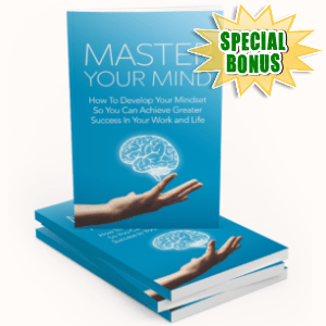 Special Bonuses - March 2019 - Master Your Mind Pack