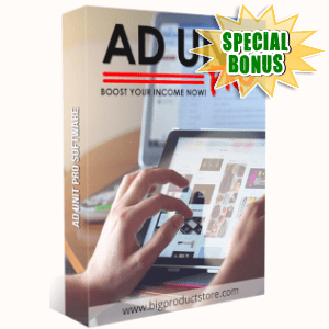 Special Bonuses - March 2019 - Ad Unit Pro Software