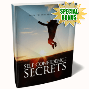 Special Bonuses - March 2019 - Self Confidence Secrets Pack