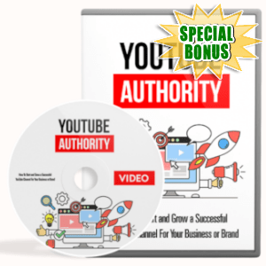 Special Bonuses - April 2019 - YouTube Authority Video Upgrade Pack