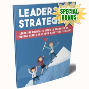 Special Bonuses - May 2019 - Leadership Strategies