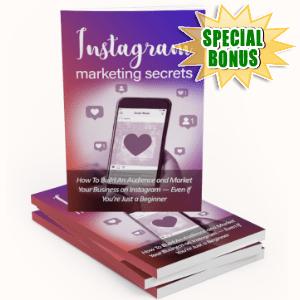 Special Bonuses - June 2019 - Instagram Marketing Secrets Pack