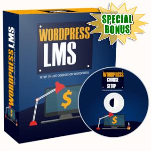 Special Bonuses - July 2019 - WordPress LMS Setup Video Series Pack