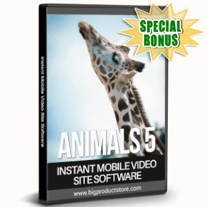 Special Bonuses - July 2019 - Animals 5 - 1080 Stock Videos V2 Pack