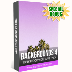 Special Bonuses - September 2019 - Backgrounds 4 - 1080 Stock Videos V2 Pack
