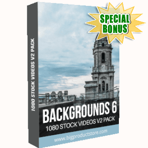 Special Bonuses - September 2019 - Backgrounds 6 - 1080 Stock Videos V2 Pack